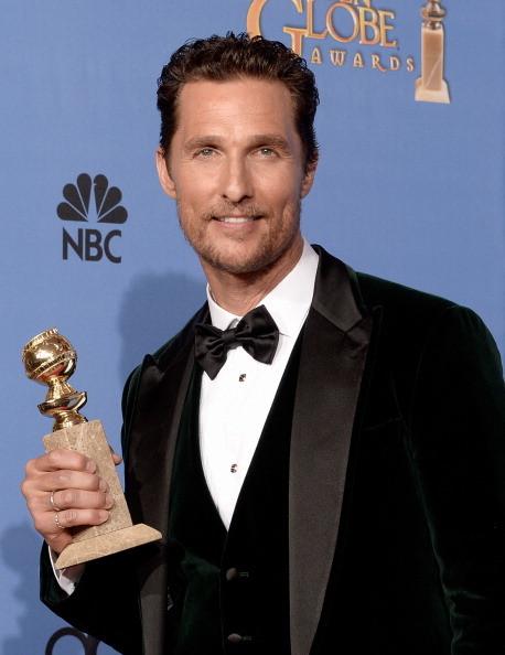 Matthew McConaughey vincitore del Golden Globe come miglior attore in un film drammatico in Dallas Buyers Club
