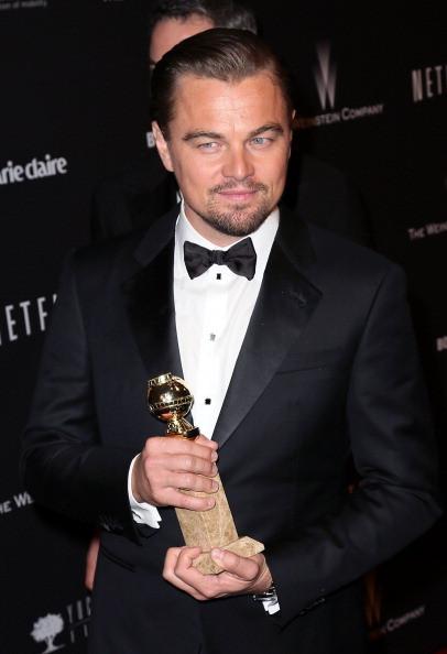 Leonardo DiCaprio vincitore del golden Globe come migliore attore di un film non drammatico per The Wolf Of Wall Street