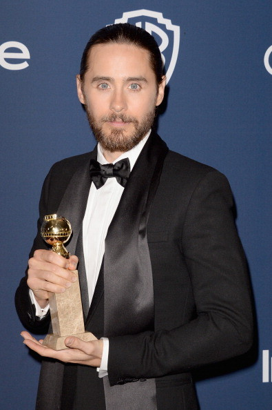 Jared Leto vincitore del Golden Globe come migliore attore non protagonista in Dallas Buyers Club
