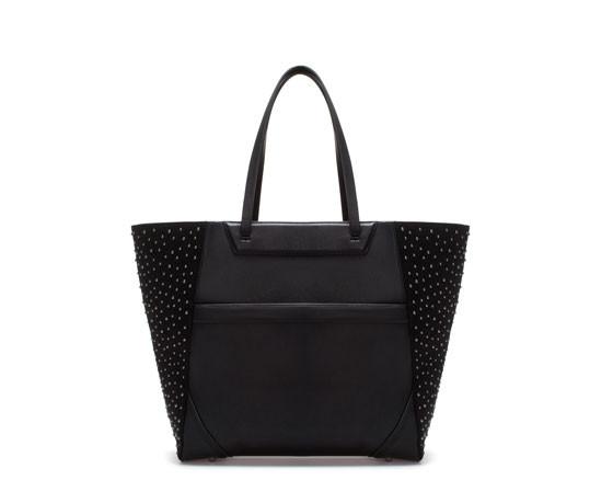 Shopper con borchie, Zara