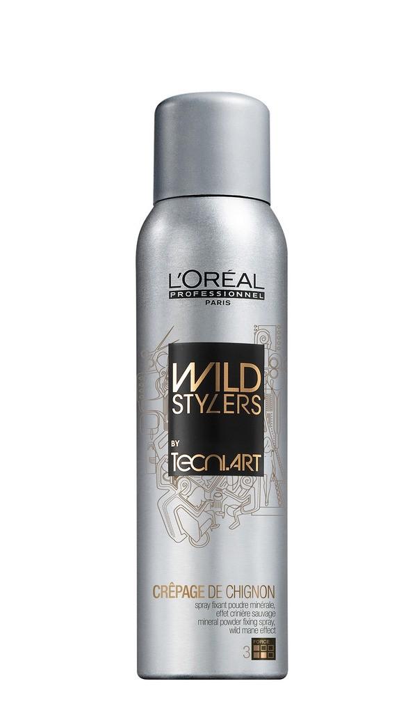 L'Oréal Crepage de Chignon, polvere a diffusione orizzontale effetto volume selvaggio per capelli lunghi