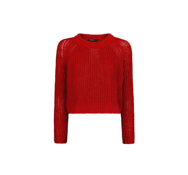 Maglione rosso, Mango