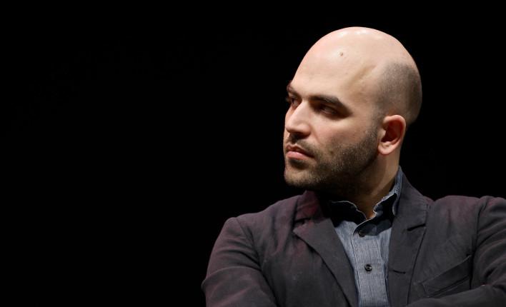 Lo scrittore Roberto Saviano.