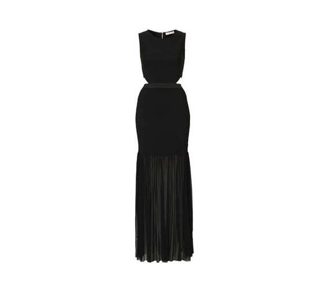 Vestito nero Topshop