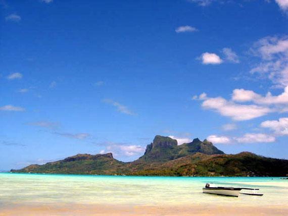 Il vulcano Otemanu, Bora Bora