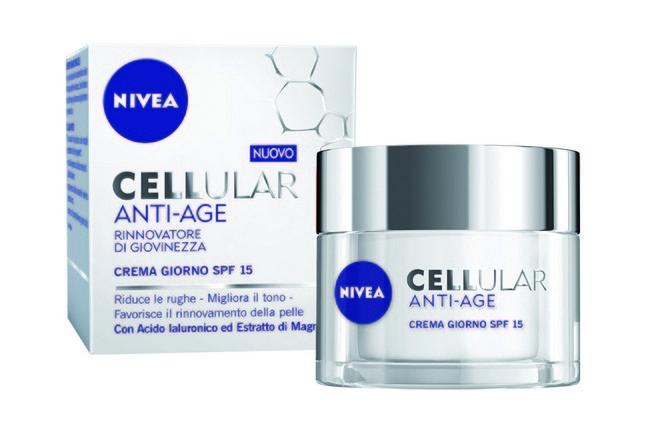 Cellular, crema anti-age Nivea che favorisce la rigenerazione cellulare