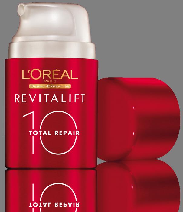 Revitalift Total Repair 10 di L'Oréeal, per contrastare dieci segni del tempo