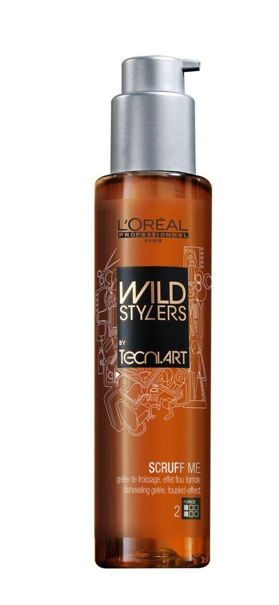 L'Oréal Scruff me, gel look  spettinato destrutturato effetto movimento per capelli medi