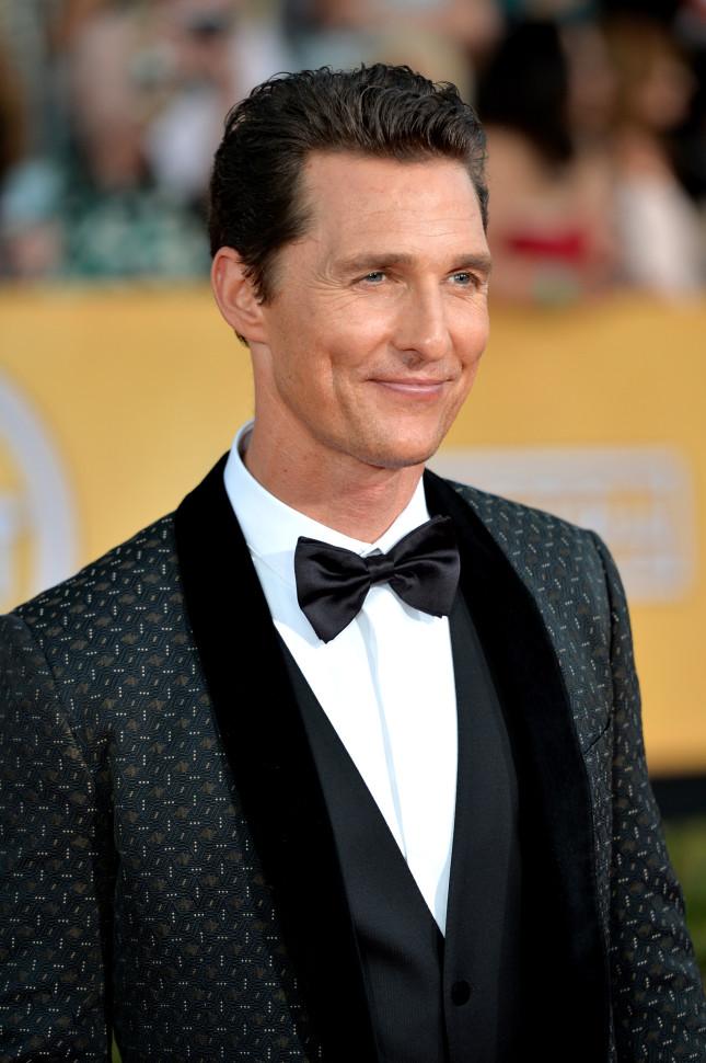 Matthew McConaughey, candidato Oscar come miglior attore protagonista in