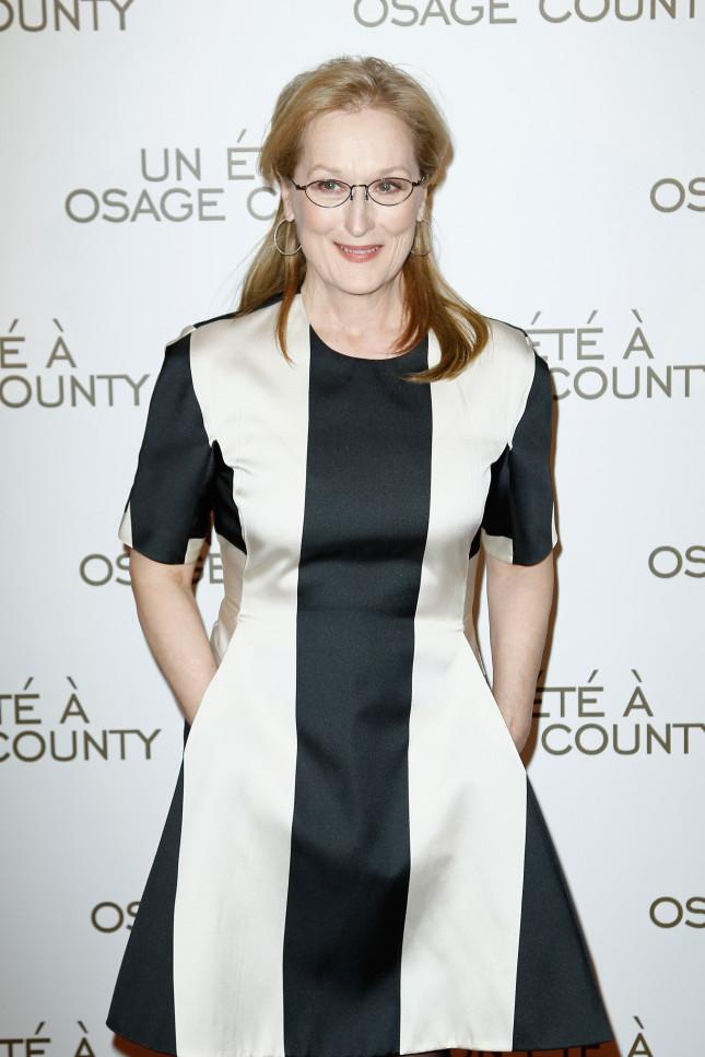 Meryl Streep, candidata agli Oscar come migliore attrice protagonista per