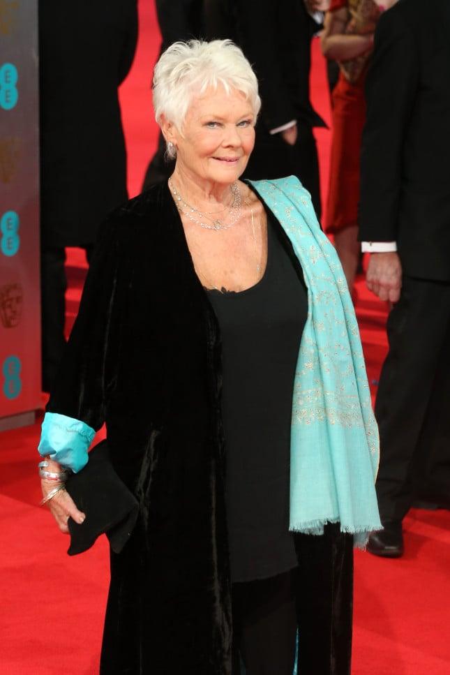 Judi Dench, in corsa agli Oscar come miglior attrice protagonista per