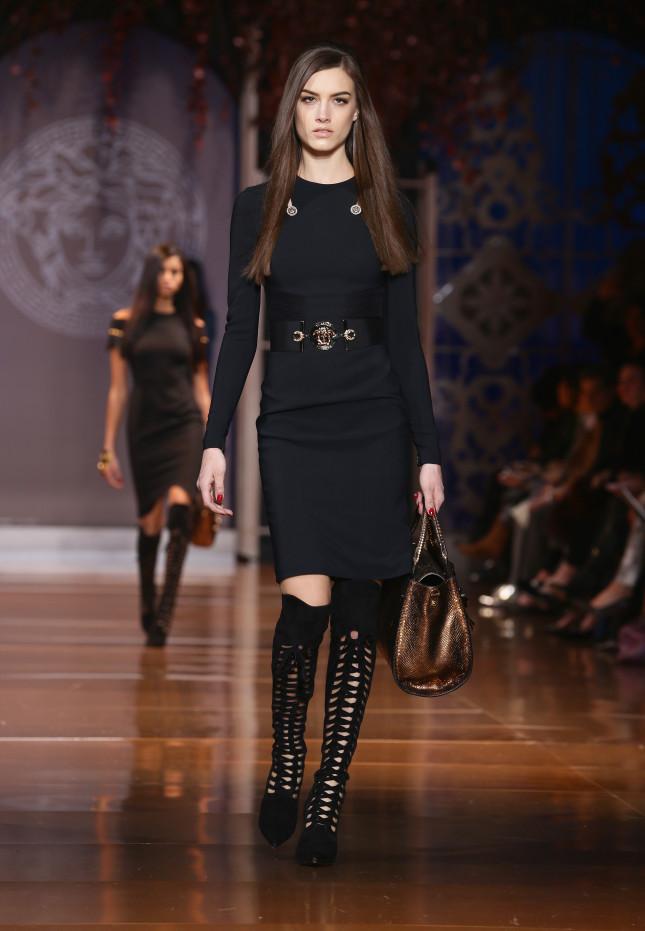 Cintura e borsa -  Versace f/w 2014-2015
