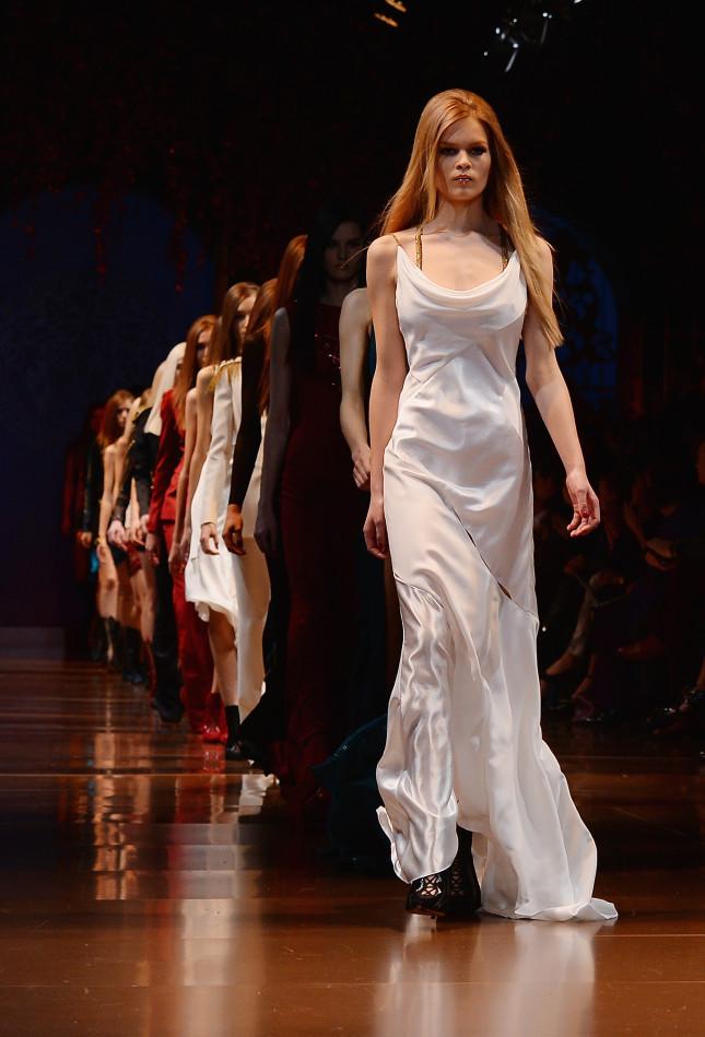 MFW: Versace f/w 2014-2015