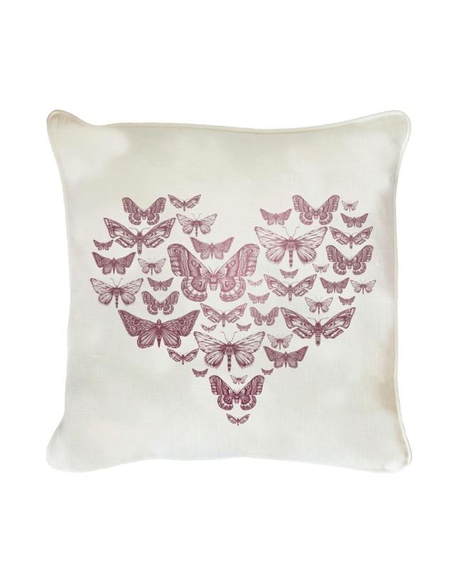 Un cuscino soffice e romantico su cui appoggiare il proprio Valentine... proposta Yoox