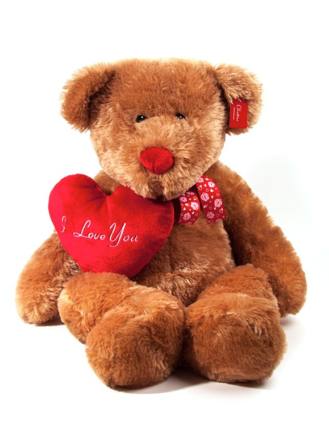Un classico: adagia il tuo Valentine sull'orsetto di peluche, per un San Valentino all'insegna della tenerezza, proposta Clintons.