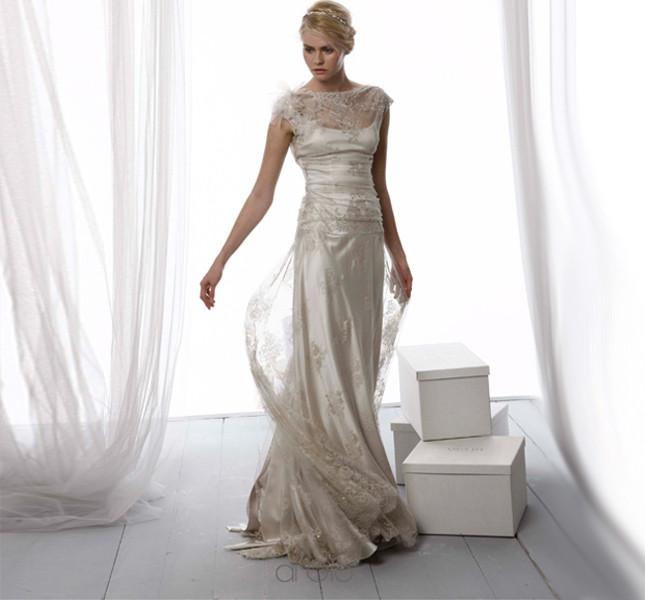 Aria vintage per questo modello Le Spose di Giò 2014