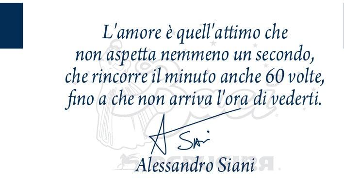 Il comico Alessandro Siani ci fa sognare con queste parole