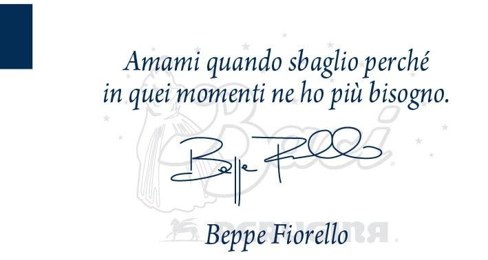 Una delle nostra frasi preferite firmata da Beppe Fiorello