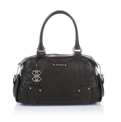 Handbag Guess in pelle nera