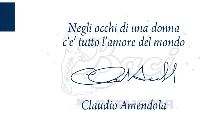 La dichiarazione d'amore per le donne dell'attore Claudio Amendola