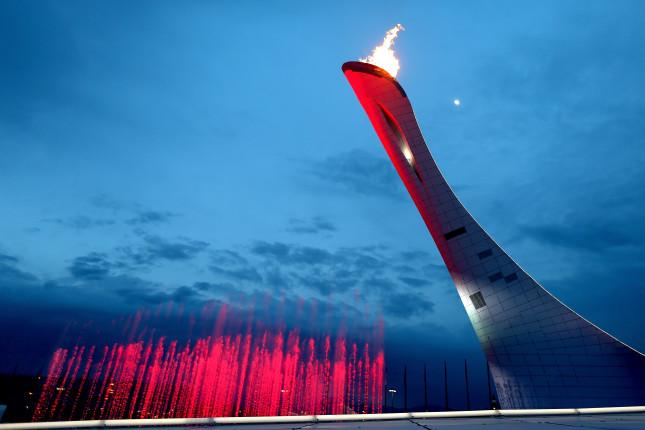 La fiamma Olimpica a Sochi: ha brillato per 14 giorni.