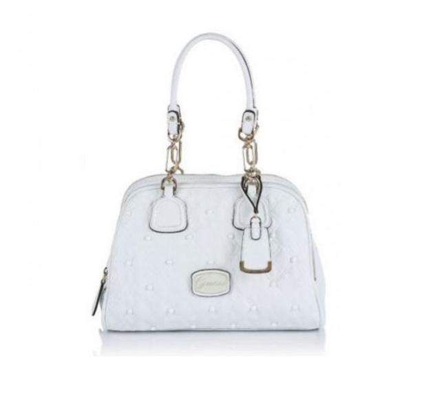 Handbag bianca Guess, collezione primavera-estate 2014