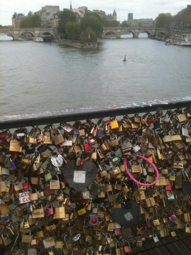 Lucchetti sul Pont des Arts