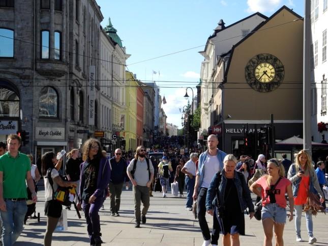 Karl Johans Gate, la via dello shopping