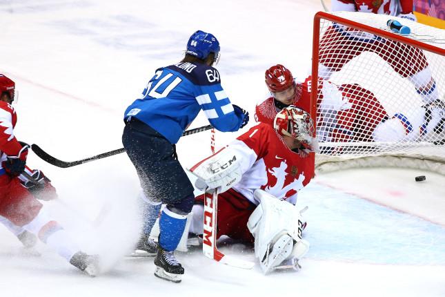 Il gol di MIkael Granlund alla Russia