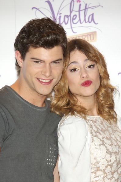 Martina con Diego Dominguez