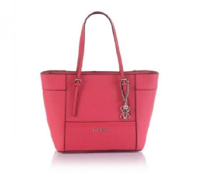 Maxi bag rossa con doppio manico, collezione Guess primavera-estate 2014