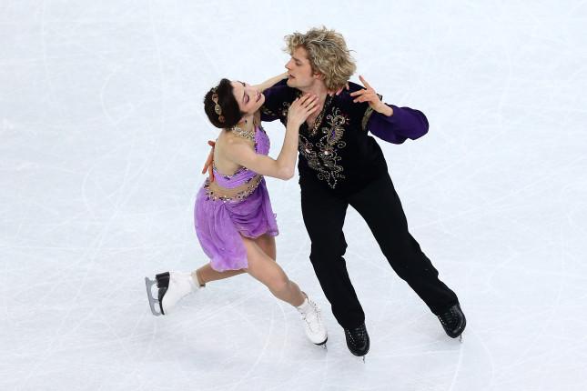 Meryl Davis e Charlie White, i grandi della danza su ghiaccio
