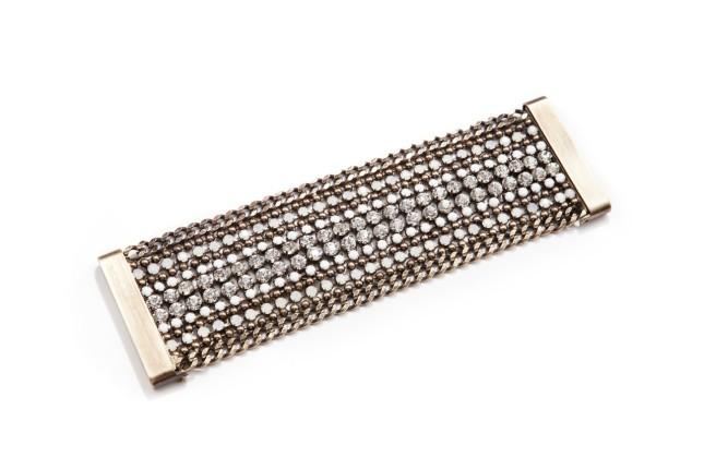 Nanni, bracciale in metallo rigido, collezione