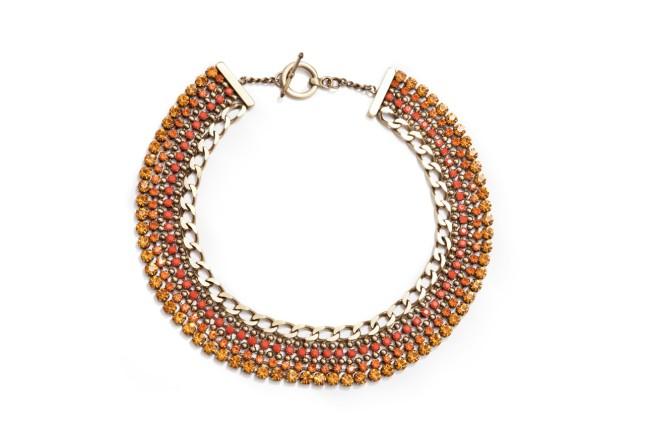 Nanni, collier in metallo dorato collezione