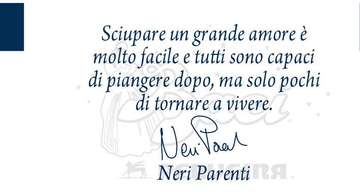 Il regista Neri Parenti ci lascia un messaggio di speranza: ricordatevi di vivere!