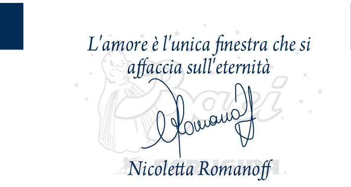 La frase dell'attrice Nicoletta Romanoff può essere regalata solo a una persona davvero speciale