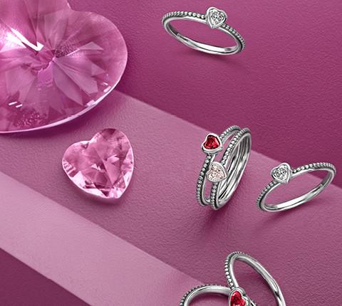 Pandora, collezione di San Valentino