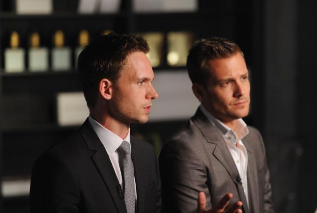 Patrick J. Adams e Gabriel Macht protagonisti della serie Suits