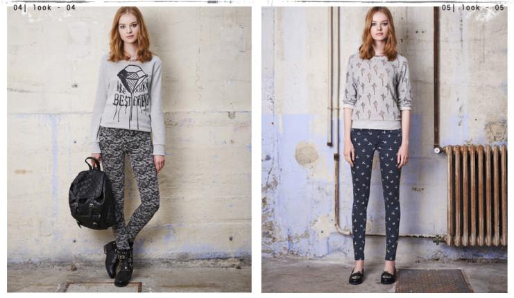 Felpe e leggings stampati Tally Weijl