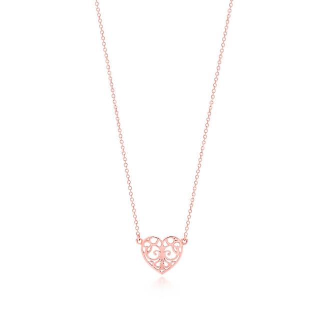 Tiffany, pendente a cuore mini, collezione Enchant