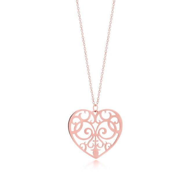 Tiffany, pendente a cuore, collezione Enchant