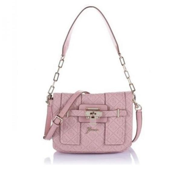 Tracolla color pastello rosa Guess, collezione primavera-estate 2014