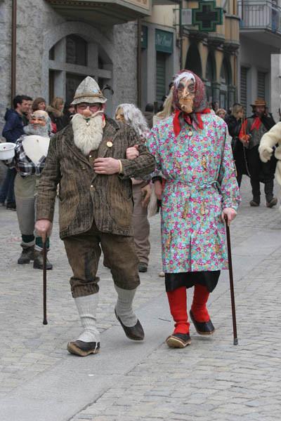 Carnevale Grosio: maschere tipiche locali