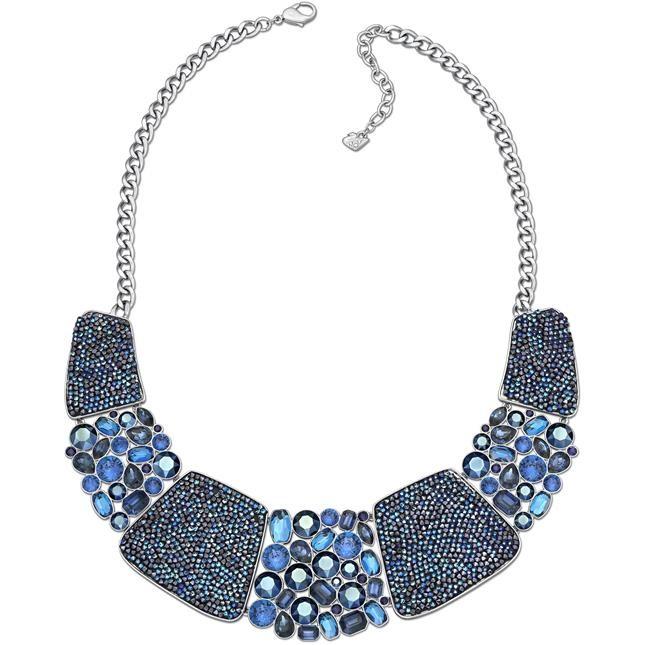 mod. Amazing All Around - collier palladiato con cristalli dalle nuance blu € 349,00