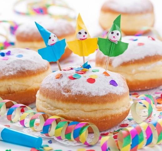 Chiamatele ciambelle, krapfen, bomboloni o bombe… a carnevale e non sono sempre buoni questi dolci!