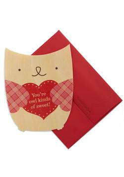 Un Valentine tenerissimo quello con il gufo e la scritta
