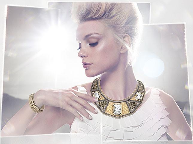 La Collezione Glamour Tribale è la novità assoluta di Swarovski per la prossima p/e 2014