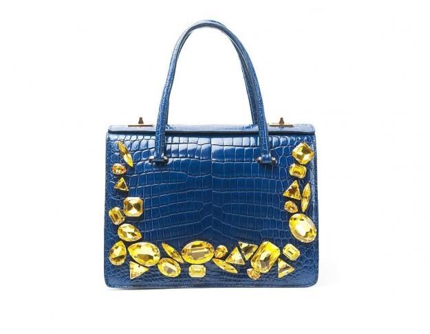 Handbag con pietre