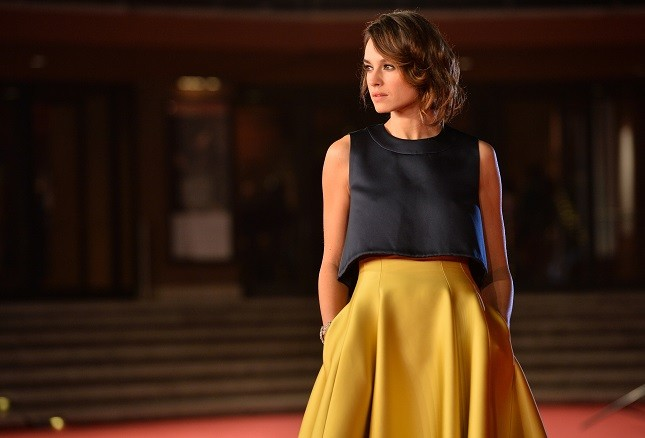 Kasia Smutniak sul red carpet del Roma Film Festival