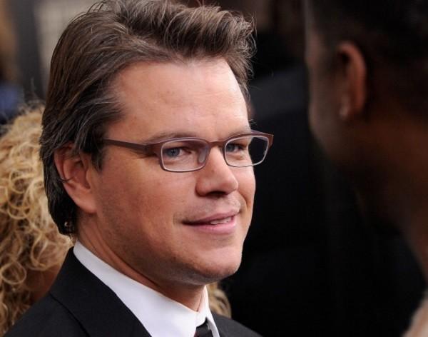 Matt Damon alla premiere di